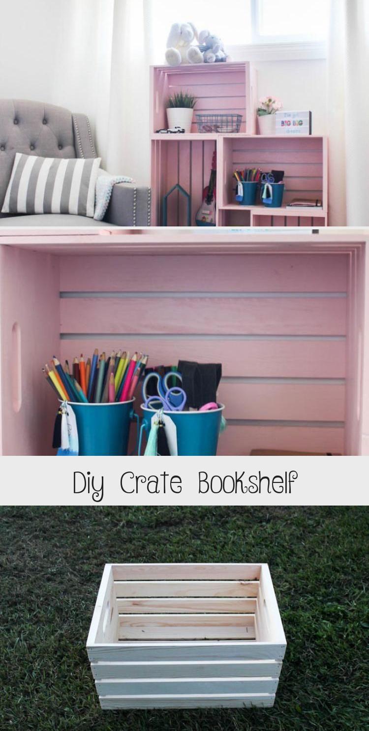 Photo of Diy Crate Bücherregal – Decor   ETK