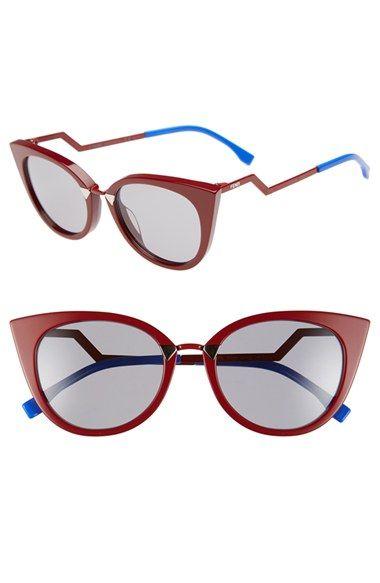 1c8f4604366 Fendi 52mm Cat Eye Sunglasses available at  Nordstrom