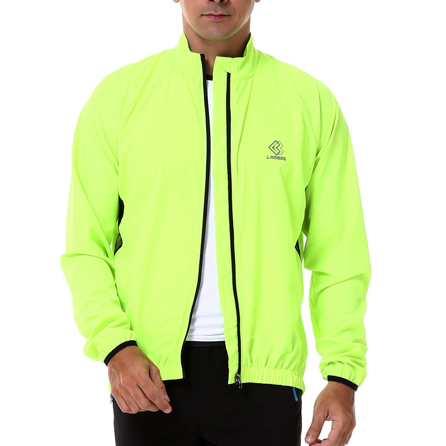 4ucycling Lambda Men's Windproof Cycling Jacket Quick Dry Outdoor Windbreaker Jacket * Want additional info? Click on the image.