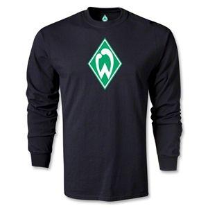 Werder Bremen Crest LS T-Shirt (Black)