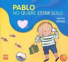 Pablo es un niño muy tímido, por eso suele estar solo en clase, en el recreo, en casa... El día que Pablo cumplió cuatro años sus padres le prepararon una fiesta ¡y ahí todo empezó a cambiar!