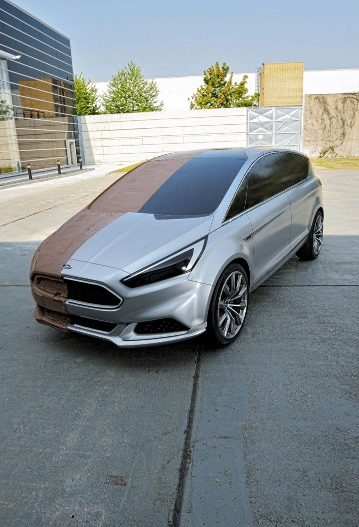 Ford S Max Concept Full Scale Clay Model Design Concept Design Automotive Design