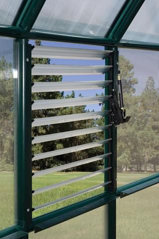 automatic louver window opener for palram and rion greenhouses rh pinterest co uk