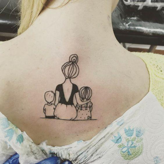 17 erstaunliche Tattoos Design für Mütter -  - #tattooideen