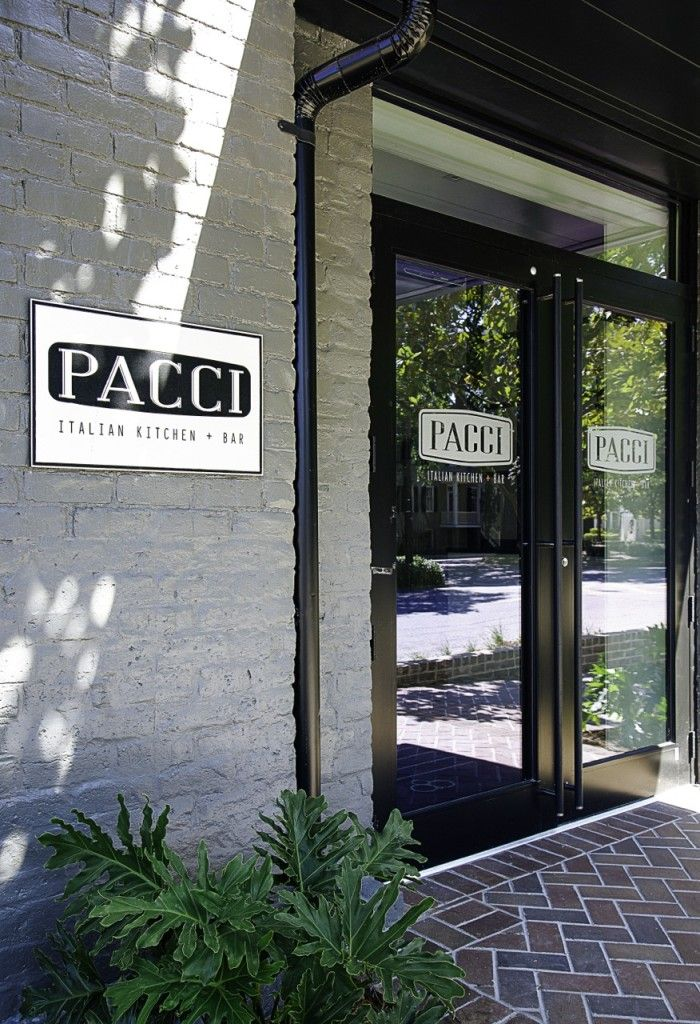 Pacci Italian Kitchen Bar Savannah Restaurants Pinterest