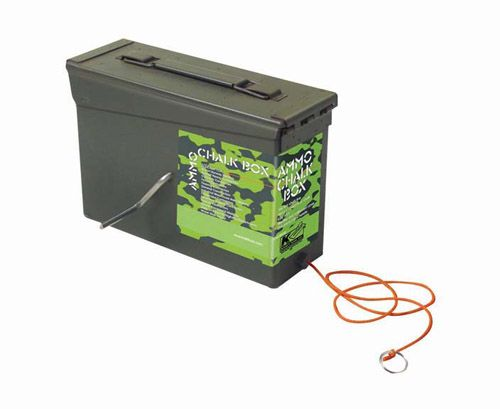 Heavy Duty 150ft Line Ammo Chalk Line Box Awesome Idea Paving Contractors Chalk Ammo
