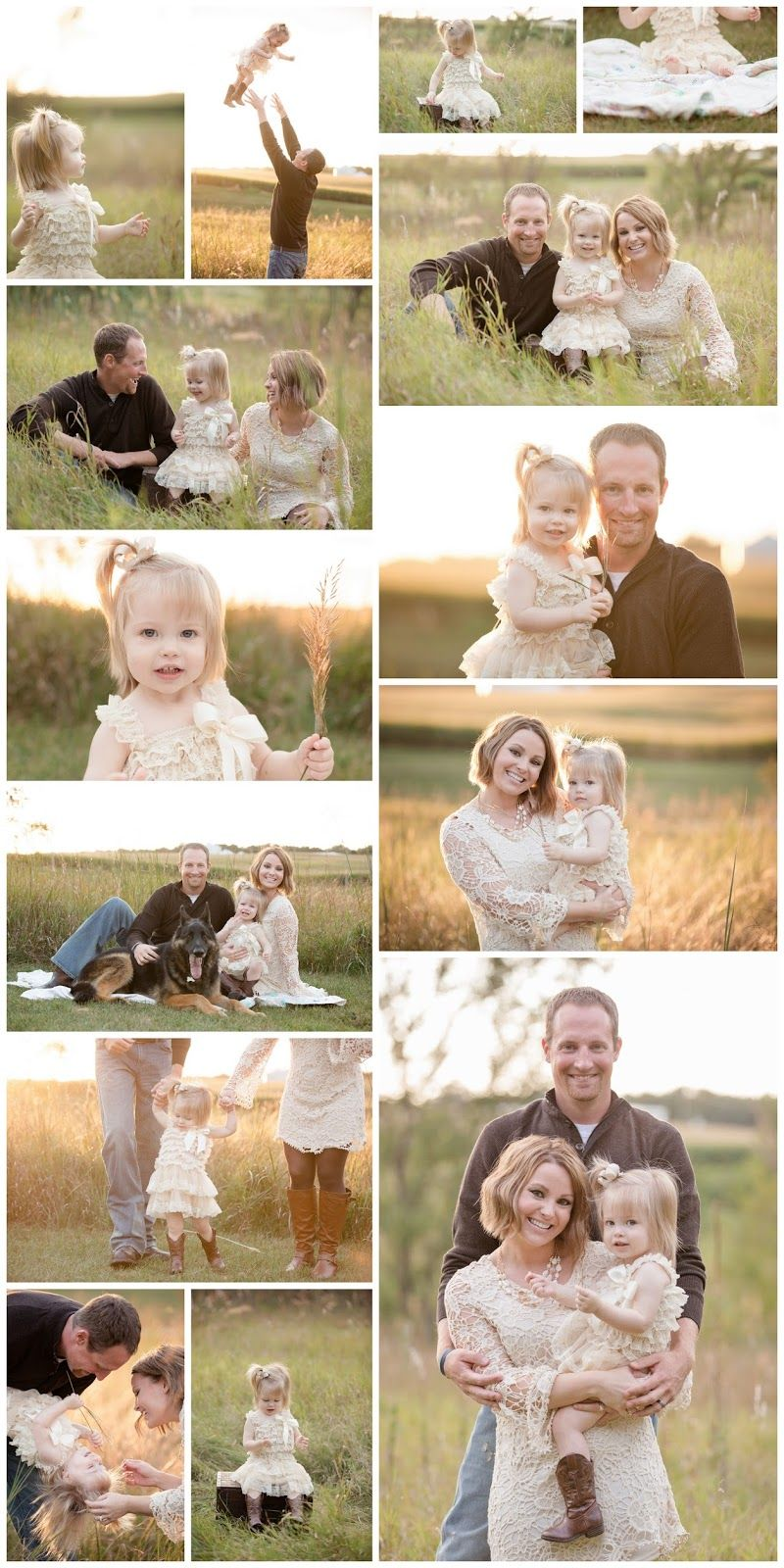 Family and toddler summer photography shoot with neutral colors