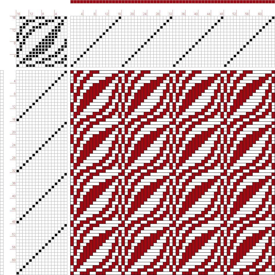 Draft image figure a handbook of weaves by g h oelsner s