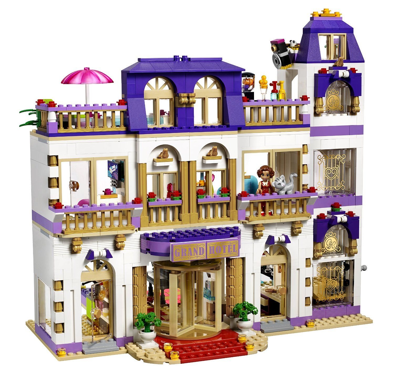 Amazon LEGO Friends Heartlake Grand Hotel Building Kit