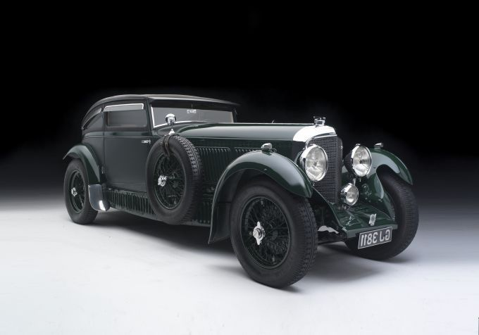 1930 Bentley Speed Six, Blue Train Special (on racing, and beating - vintage möbel küche