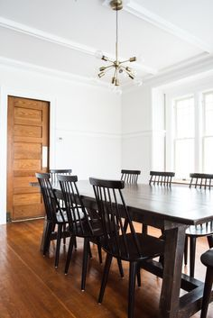 our dining room renovation before and after interior design rh pinterest ie