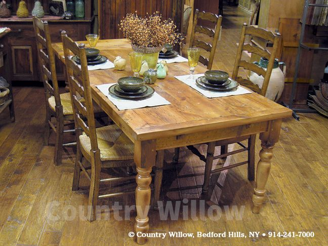 Tuscan Kitchen Table Simple Style Decor With