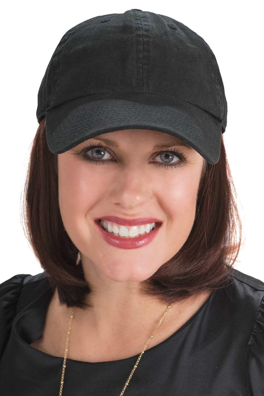 2bec72e0670 Baseball Cap with Hair