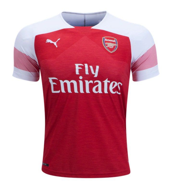 the best attitude dbfb5 53350 FAN+SHIRT+Arsenal+Red+2018-2019+Primary+Jersey+New+Free+ ...