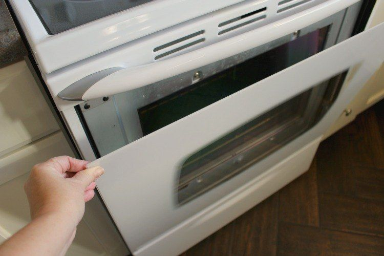 How To Clean Between The Glass Door On A Maytag Oven Appliances