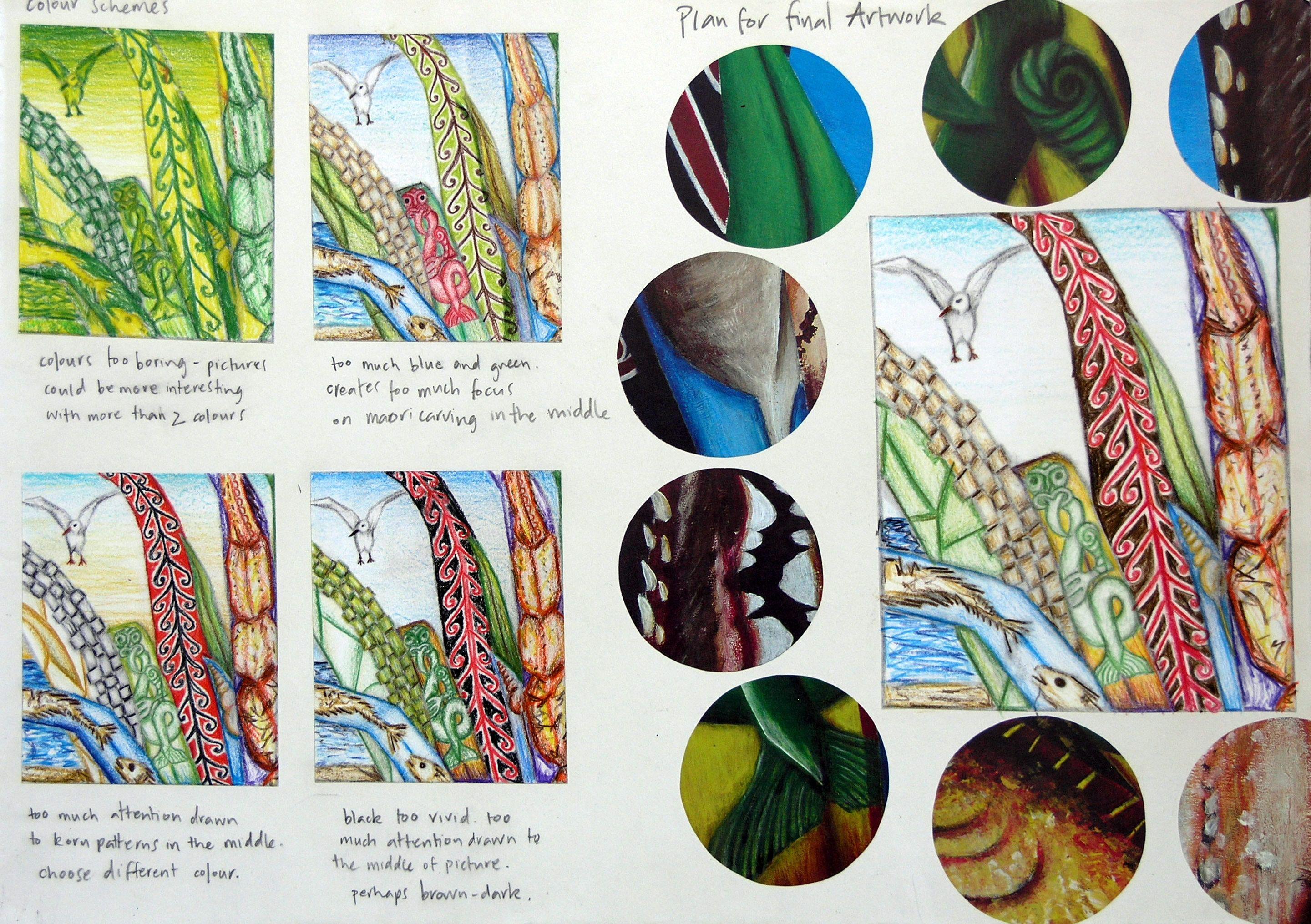 International Gcse Art Sketchbook Natural Forms