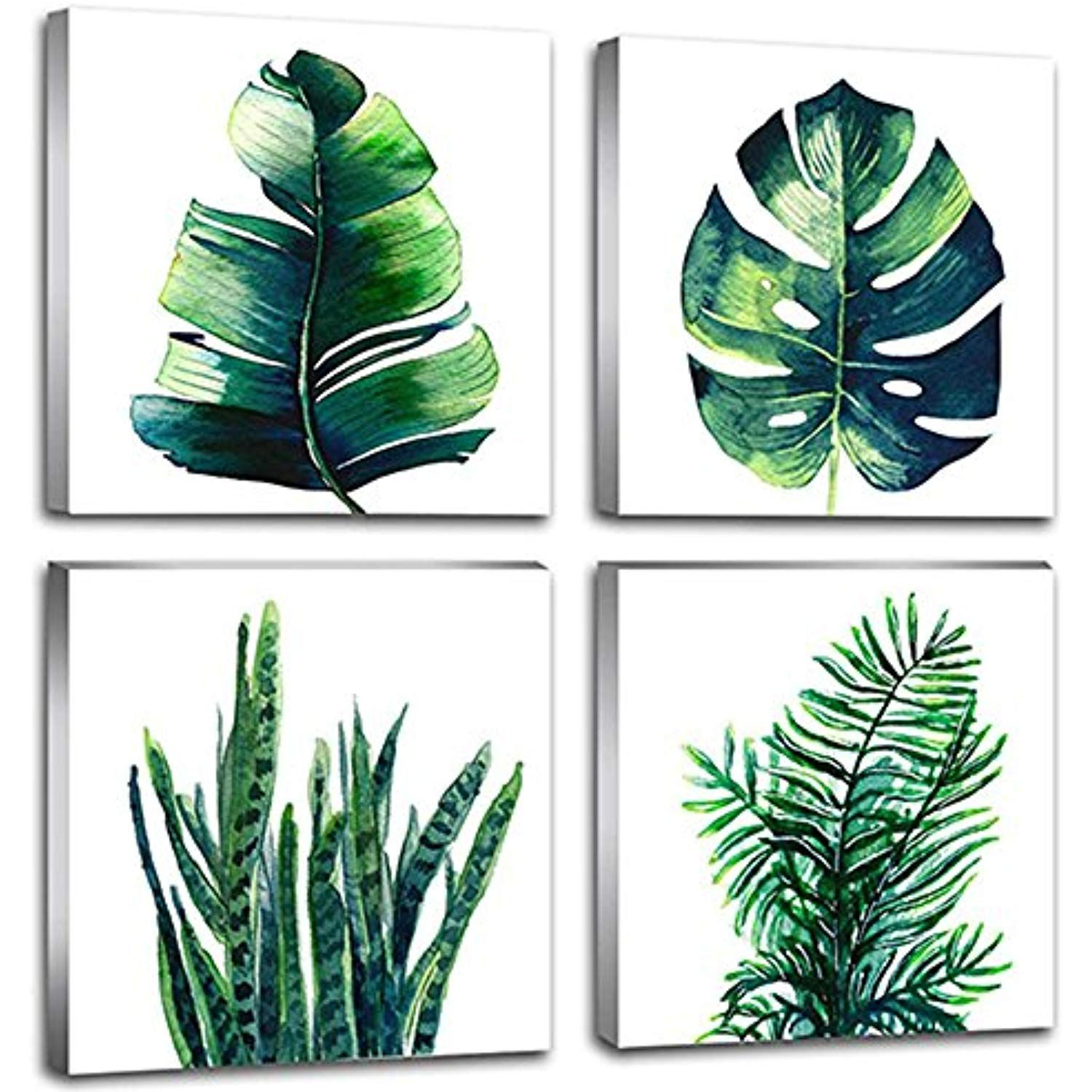 Leaf Home Wall Decorations Art Decor For Bathroom Bedroom Pictures
