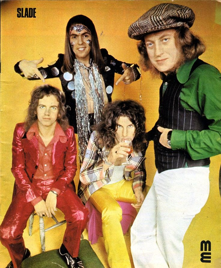 Super Seventies Slade Slade Band 70s Music Glam Rock