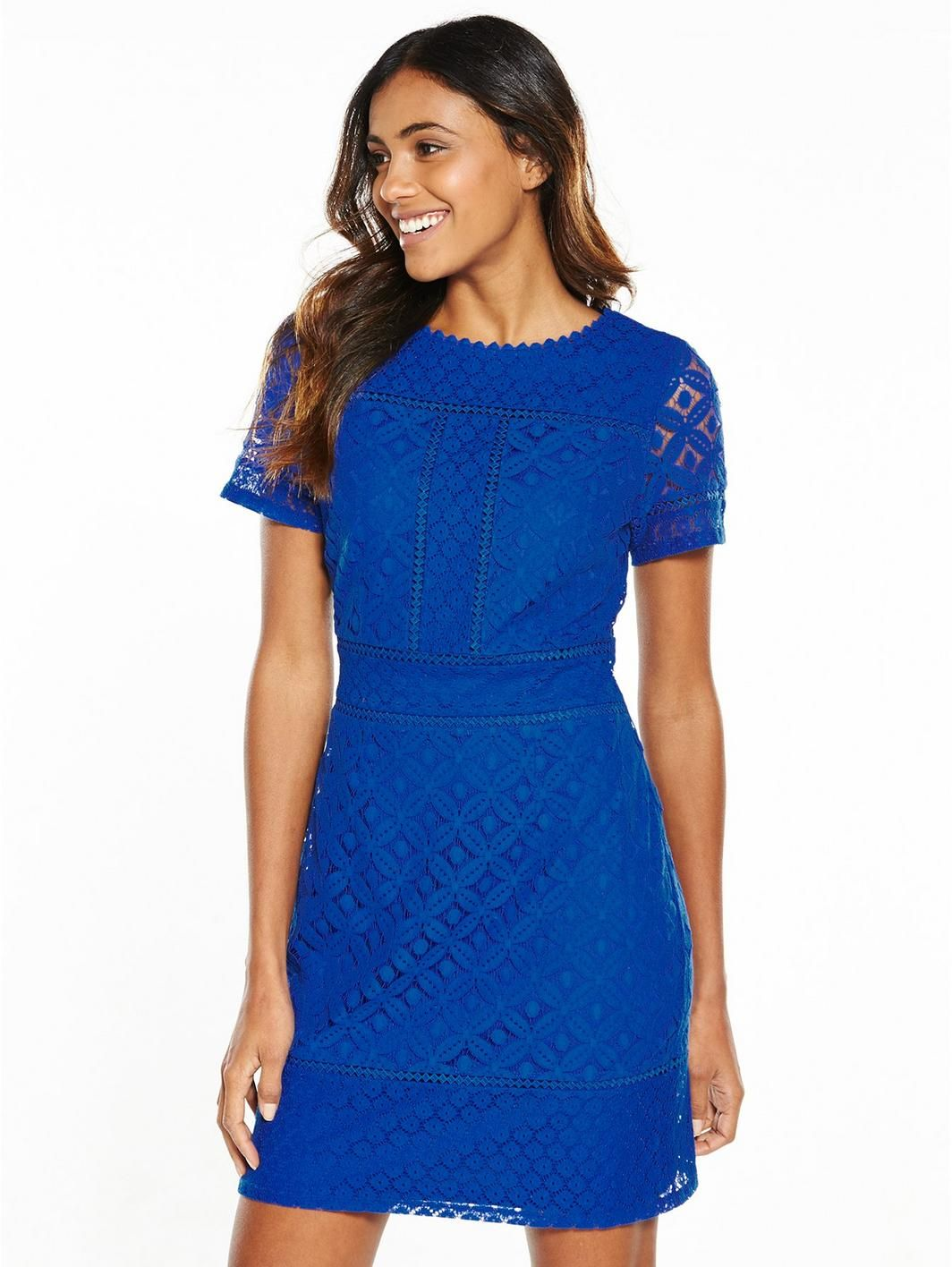Oasis isla lace shift dress cobalt httplittlewoods oasis isla lace shift dress cobalt httplittlewoods ombrellifo Image collections