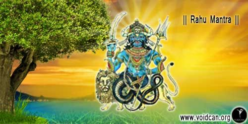 Rahu Mantra Meaning and Benefits - Mantra For Riches