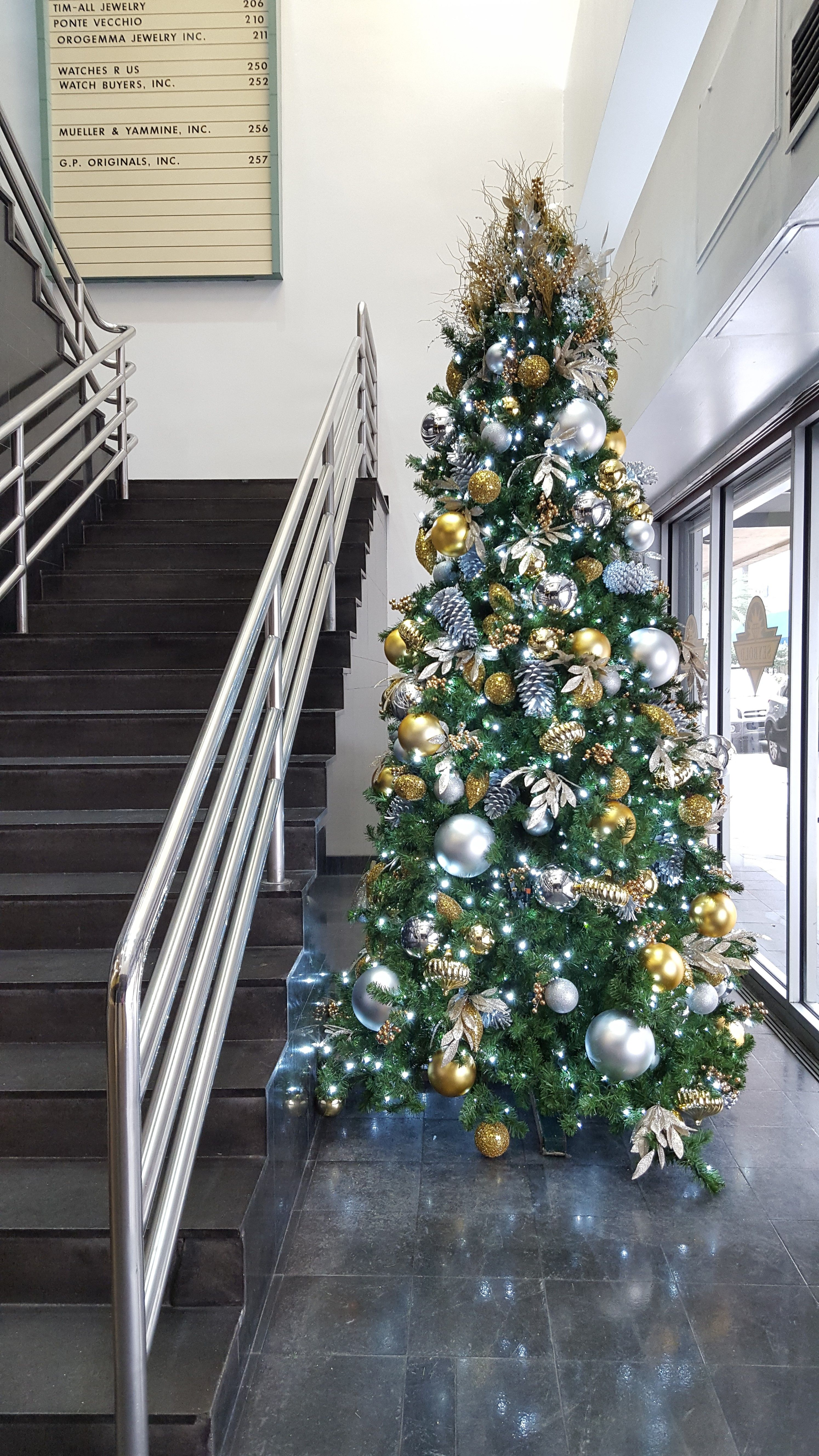 Miller Lights loves decorating trees both inside and outside. We love coming up with ideas for the trees, swags and other displays. Click on pin to find out about our services.
