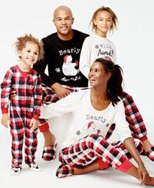 08f774c8b Family Pajamas Buffalo Plaid Bear Pajamas, Only at Macy's | Holidays ...