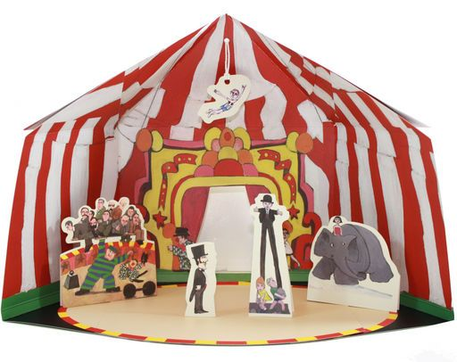 An adorable circus tent toy designed from a classic childrens book.  sc 1 st  Pinterest & making a circus tent... want this to make with L | toys ...