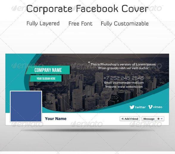 Premium And Free Facebook Timeline Cover Templates Con Imagenes