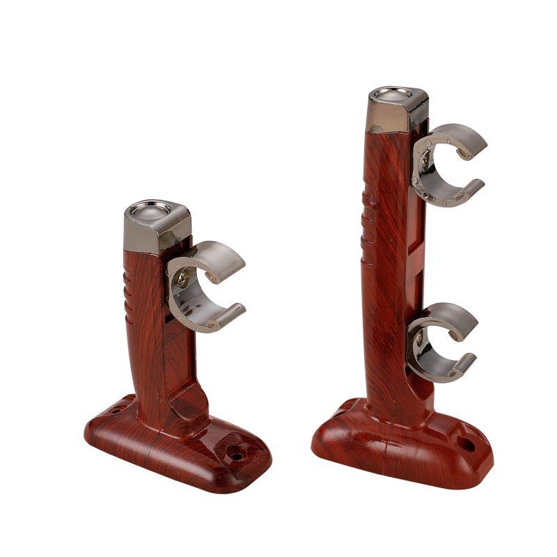 Sy Black Wood Drapery Rod Set Aluminum Rod Szone Curtain Rods