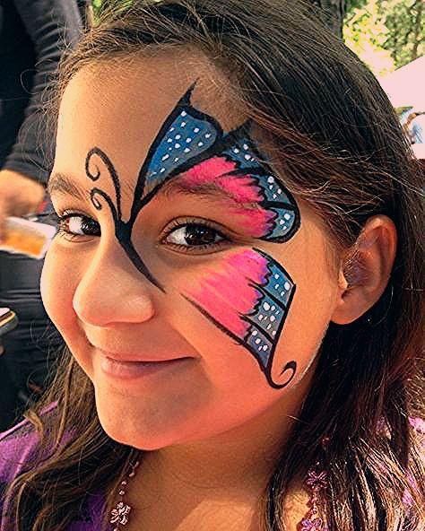 Photo of Kinderschminken Vorlagen für Gesichtsbemalung – Einfach und süß