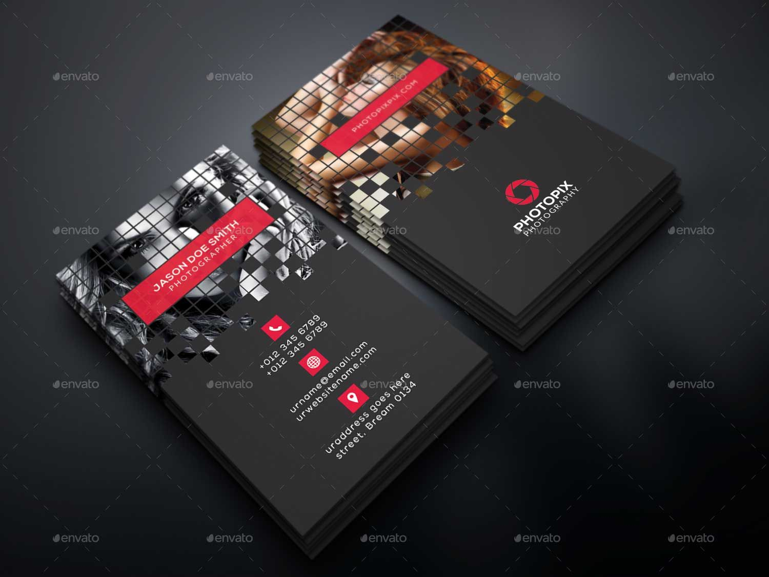 Pixel-Photography-Business-Card | 65+ Best Business Card For ...