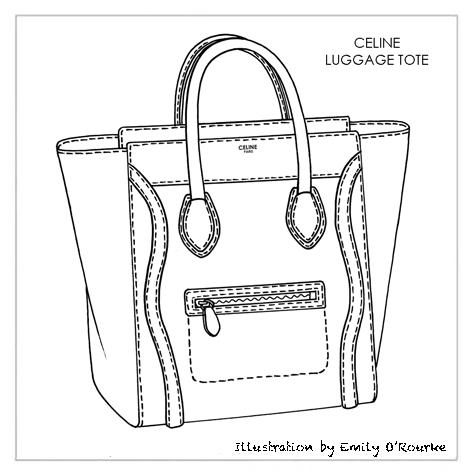 how to draw handbags in illustrator