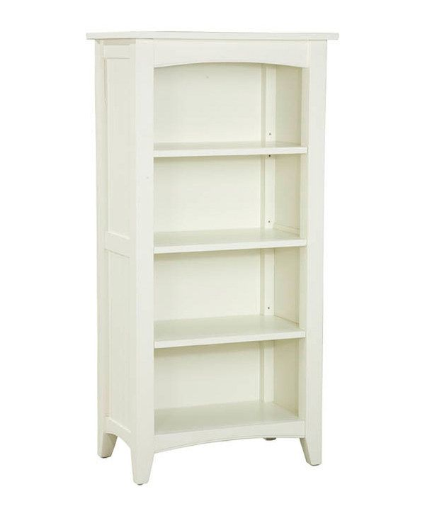 Look at this Ivory Shaker Cottage Tall Bookcase on #zulily today!