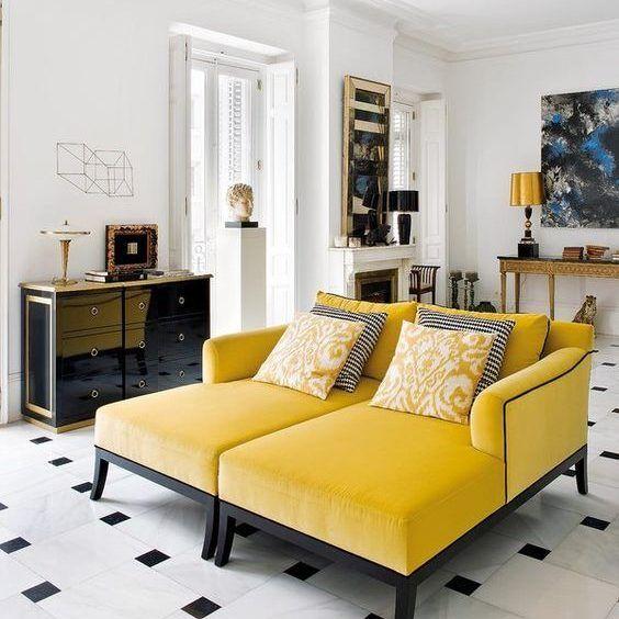 sofas-con-color | Salones | Pinterest | Sofá, Salón y Cactus