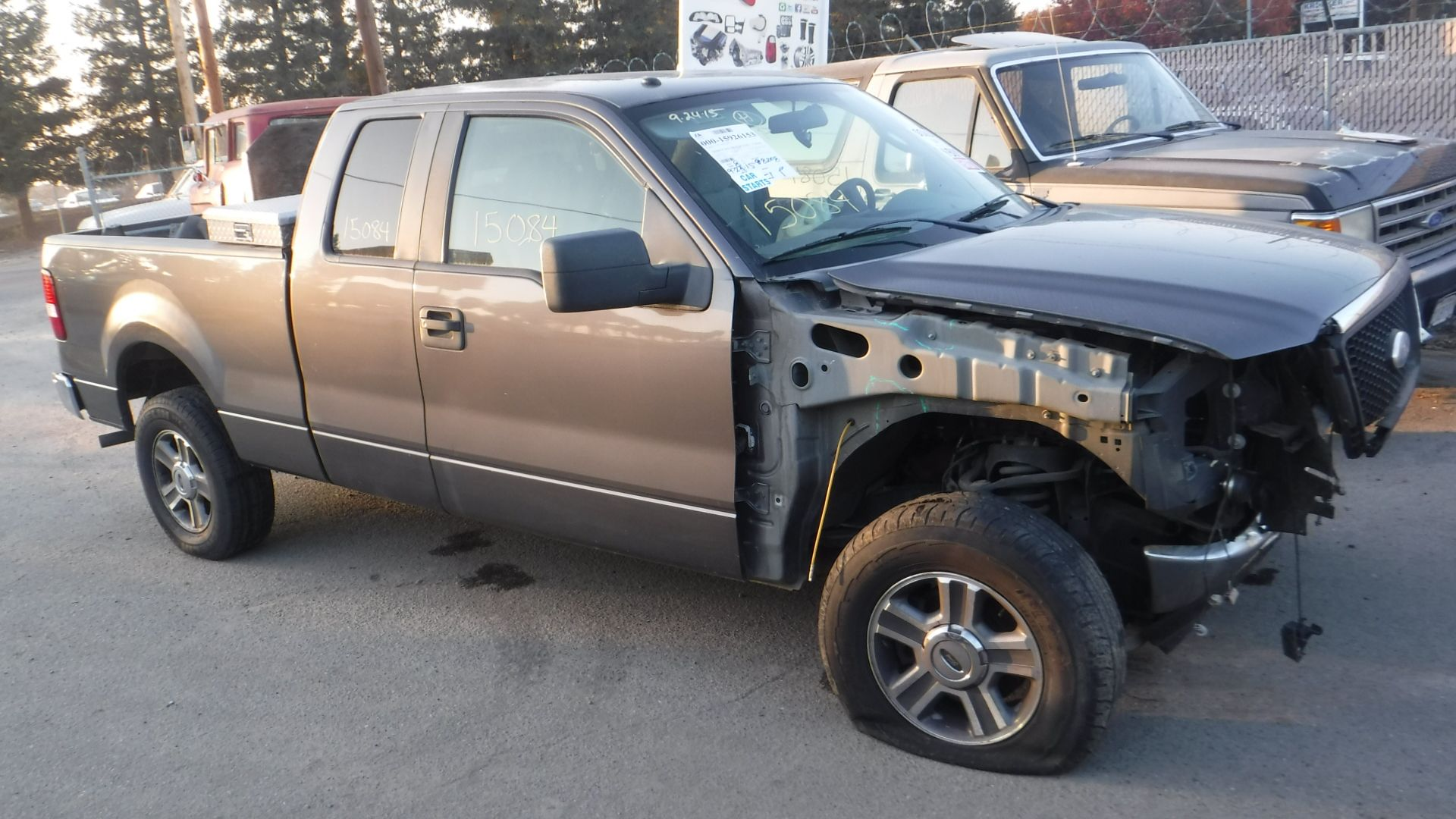 small resolution of 2007 ford f 150 xlt supercab 4wd 5 4l with 88k miles this is