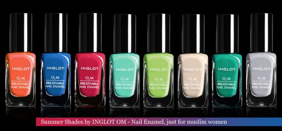 INGLOT _ O2M Nail Enamel A Religious Solution for MUSLIM WOMEN to do ...