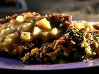 Sunny's Chicken Fried Steak with Diced Potato Gravy Recipe : Sunny Anderson : Food Network