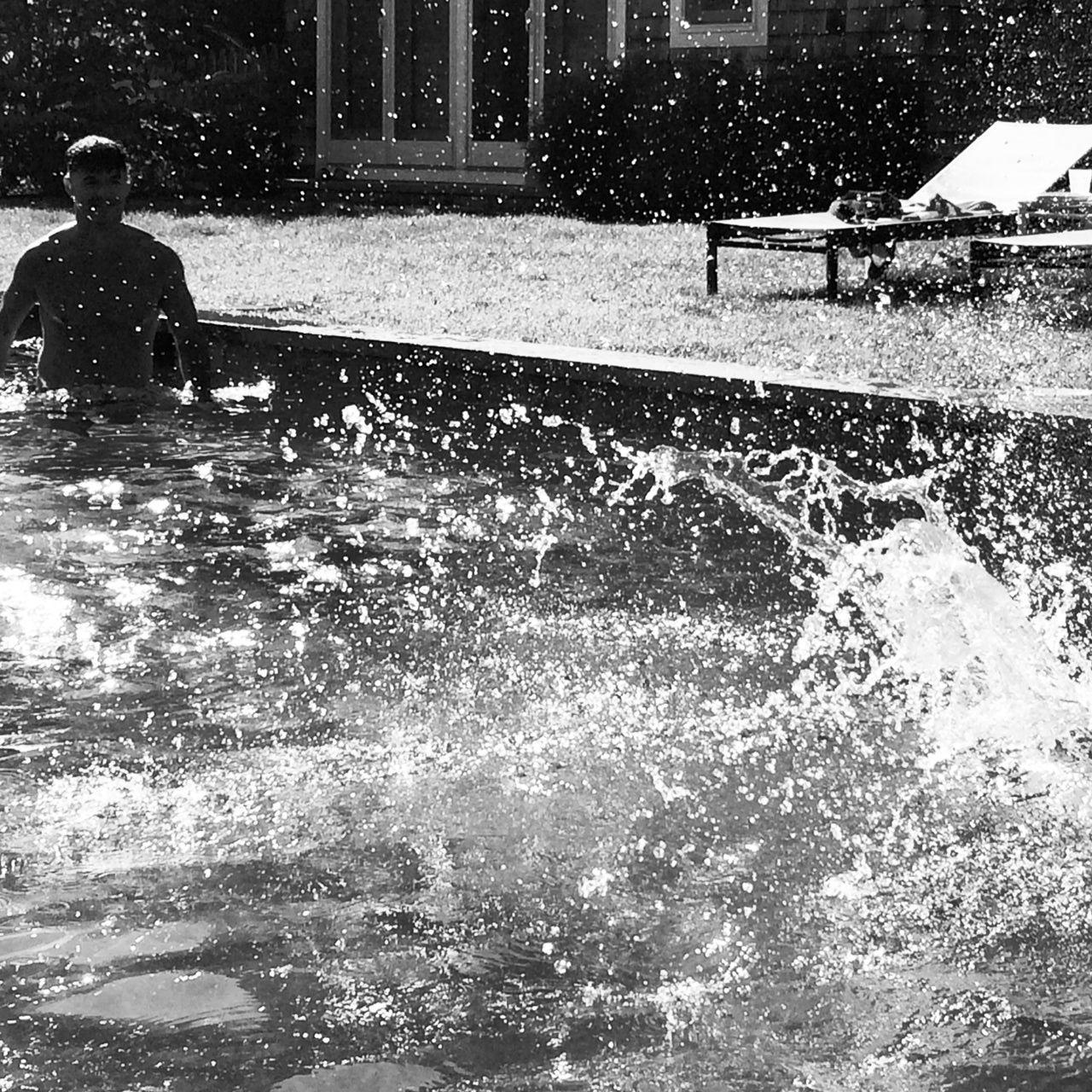 Summer PURSUITS // splash swim summer hamptons
