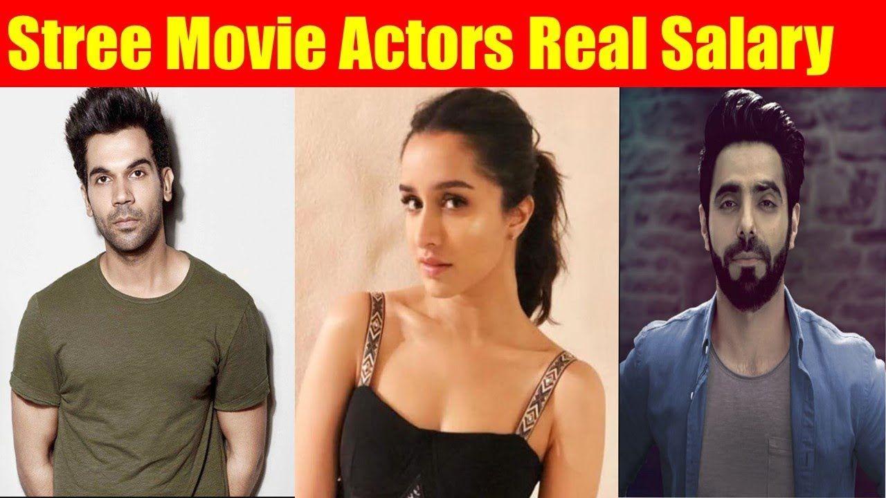 Stree Movie Actors Real Salary Stree Movie Actors Age Stree