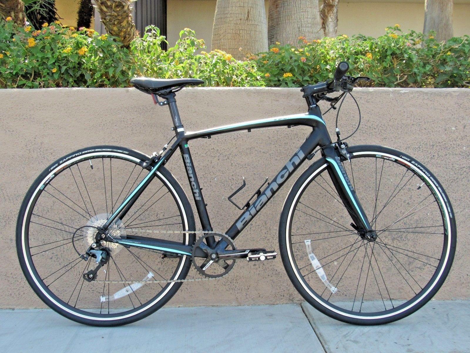 ceea99a6419 DEMO 2017 53CM BIANCHI IMPULSO S-SPORT TIAGRA 1x10 DISC FLAT BAR ROAD BIKE!   roadbike
