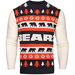 Nfl Chicago Bears One Too Many Light Up Sweater Large Nfl Nfc