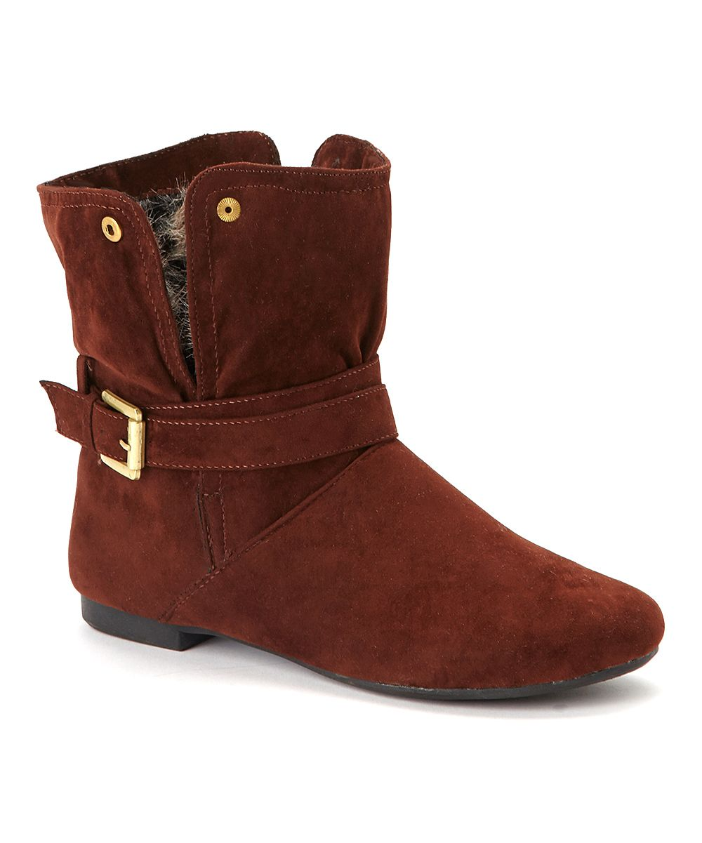 Brown  Boot