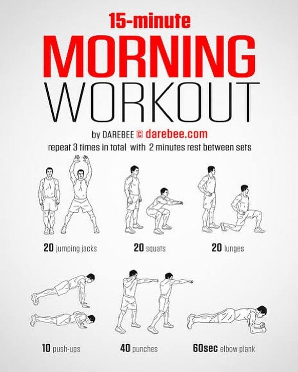 Don't have time to get into the gym today? No worries! This quick little workout will keep you in the fitness routine 🏋🏼‍♀️ 15 minutes out of your day is nothing, you can do this one anywhere anytime!