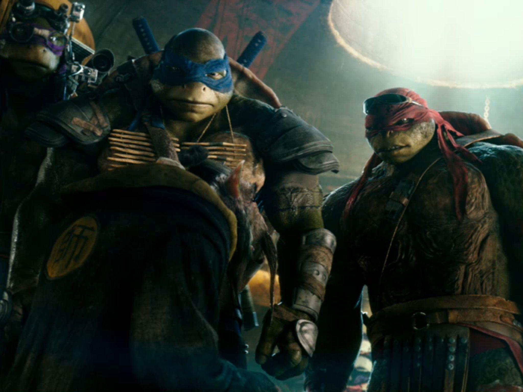 Leo And Raph And Donnie And Master Splinter Teenage Mutant Ninja Turtles Movie Ninja Turtles Movie Tmnt