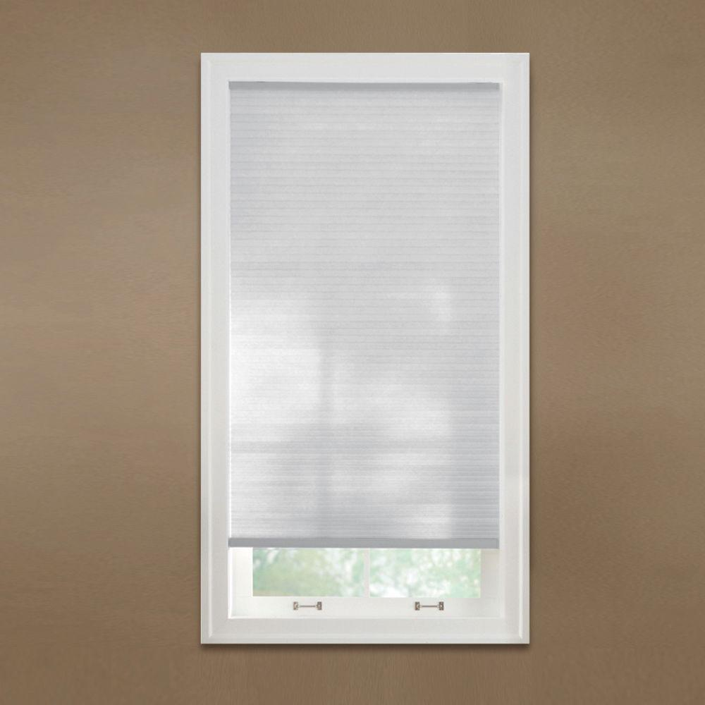 Home Decorators Collection Snow Drift Cordless Light Filtering Cellular Shade 34 In W X 72 In L 10793478630295 The Home Depot Light Filtering Cellular Shades Cellular Shades Home Decorators Collection