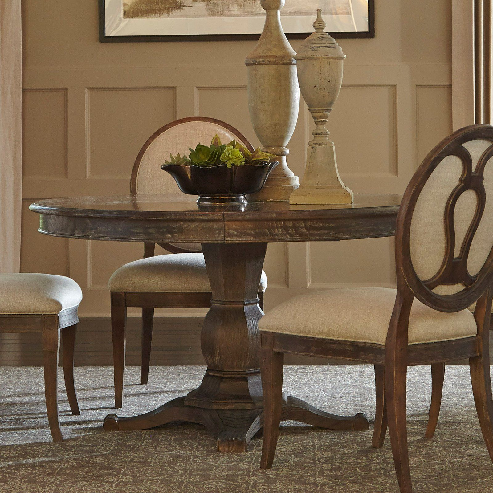A R T Furniture Saint Germain Round Dining Table From Hayneedle