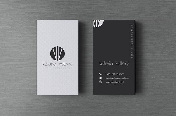 Personal Branding By Valeria Vollery Business Card