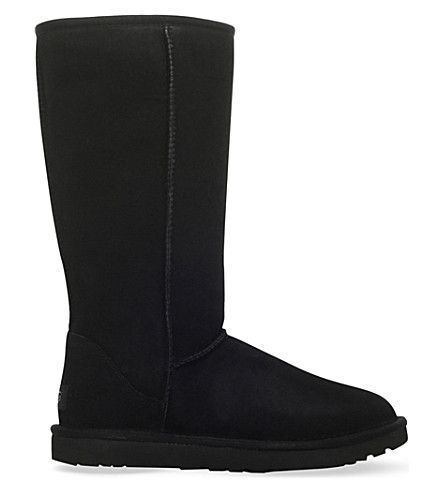 Ugg Classic Short Low Heels Ankle Boots