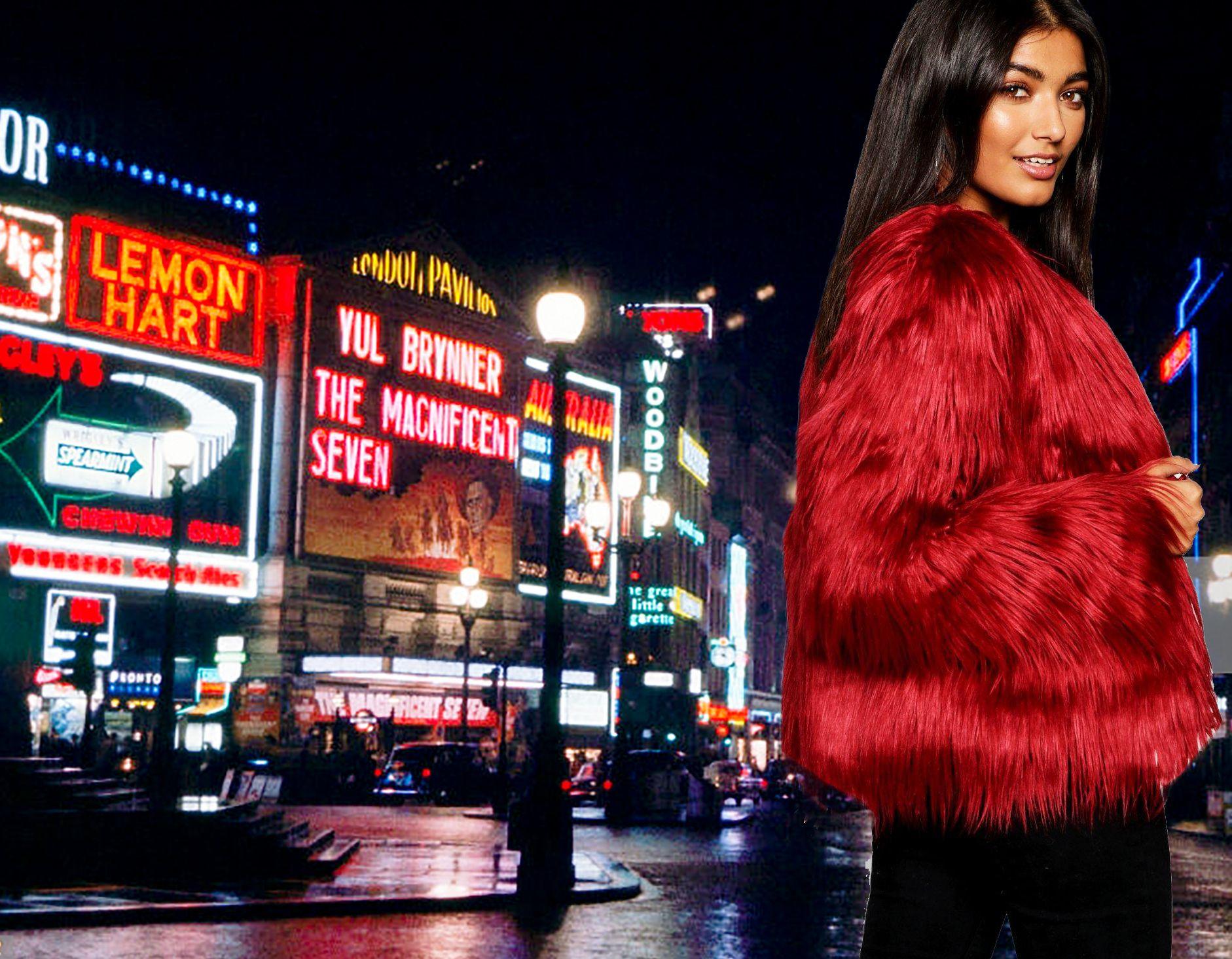 Get Awesome Jacket Bo Ca200251 جاكيتات ملابس ملابس شتويه فاشن Times Square Landmarks Clothes