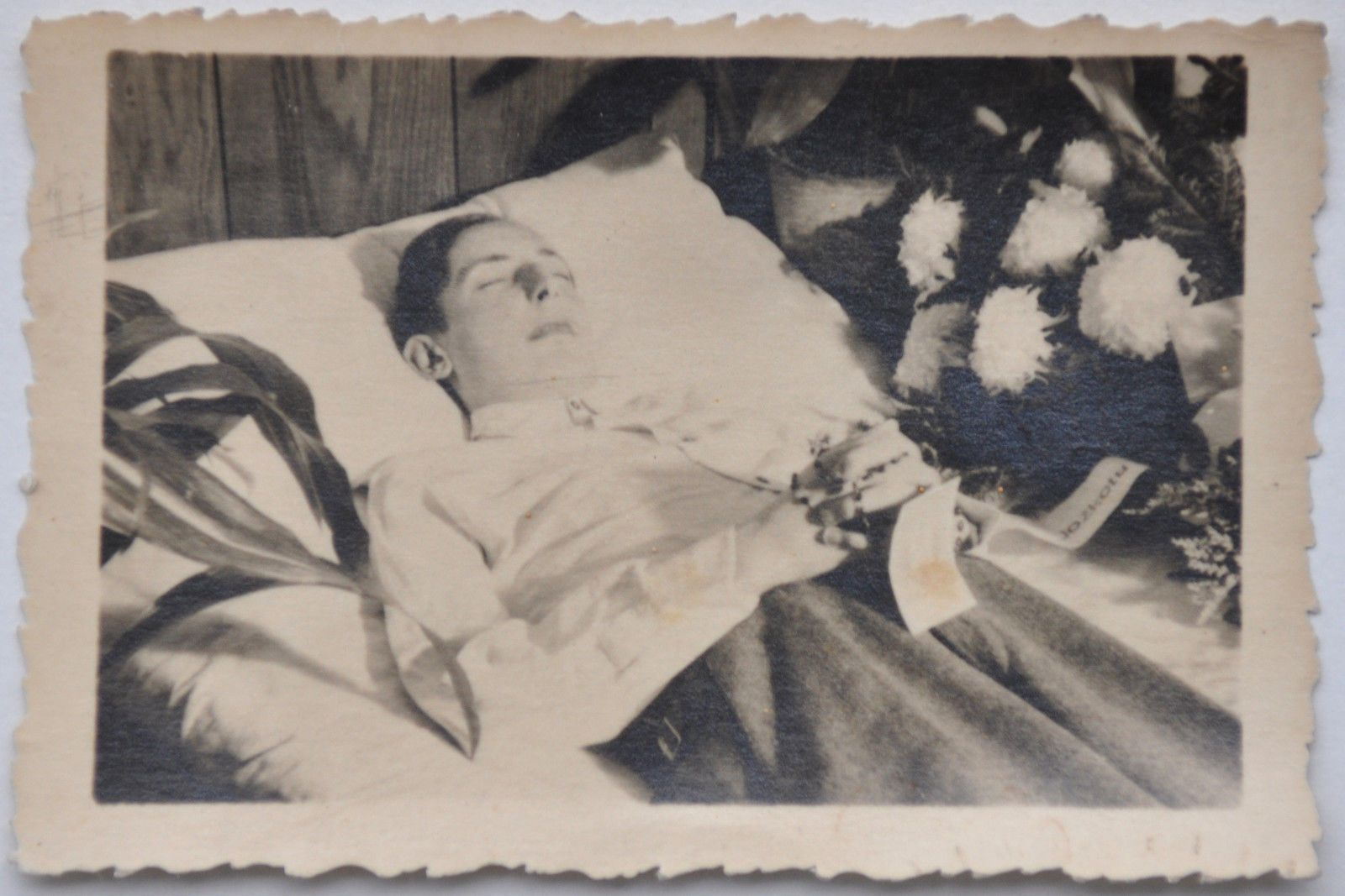 from eastern europe, young woman on deathbed